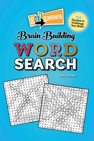 Go!Games Brain Building Word Search by John Samson
