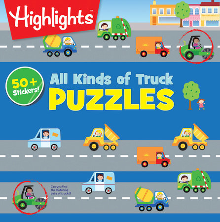 All Kinds of Truck Puzzles by