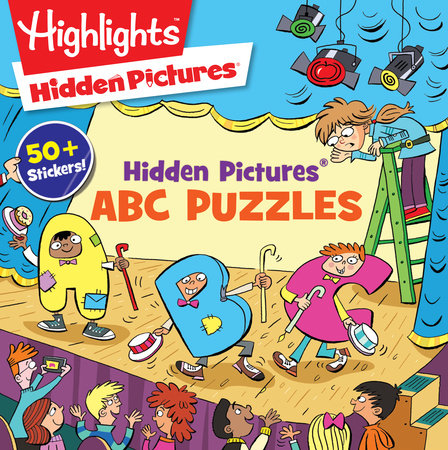 Hidden Pictures® ABC Puzzles by