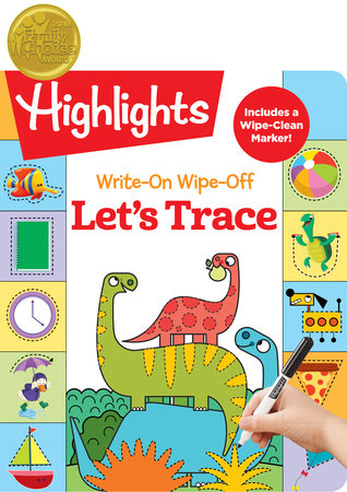 Write-On Wipe-Off Let's Trace by Highlights Learning