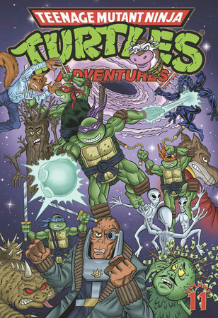 Teenage Mutant Ninja Turtles Adventures Volume 11 by Dean Clarrain, Philip Nutman and Ryan Brown