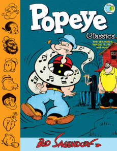 Popeye Classics Volume 9: The Sea Hag's Magic Flute and More