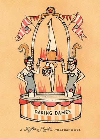 Daring Dames: A Kyler Martz Postcard Set by Kyler Martz
