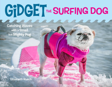Gidget the Surfing Dog