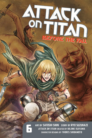 Attack on Titan: Before the Fall 6 by Ryo Suzukaze