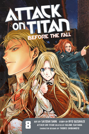 Attack on Titan: Before the Fall 8 by Ryo Suzukaze