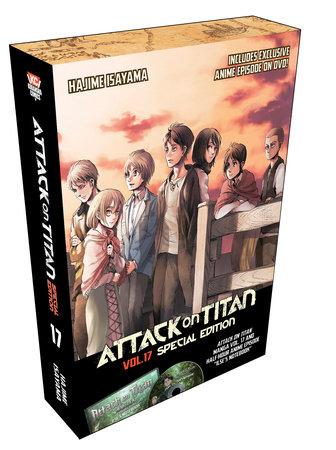 Attack on Titan 17 Manga Special Edition w/DVD by Hajime Isayama
