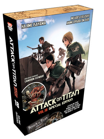 Attack on Titan 18 Manga Special Edition w/DVD by Hajime Isayama