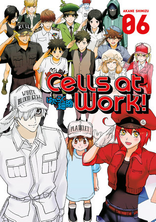 Cells at Work! 6 by Akane Shimizu