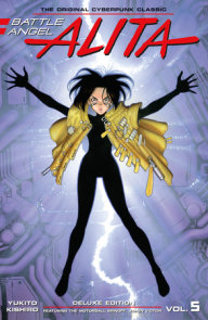 Battle Angel Alita Deluxe 5 (Contains Vol. 9 & Ashen Victor)