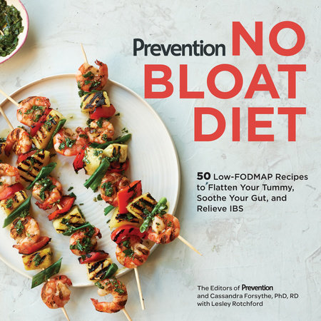 Prevention No Bloat Diet by Editors Of Prevention Magazine, Cassandra Forsythe, PhD, RD and Lesley Rotchford