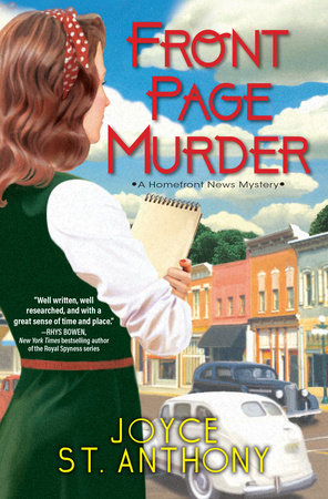 Front Page Murder by Joyce St. Anthony