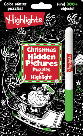 Christmas Hidden Pictures Puzzles to Highlight by
