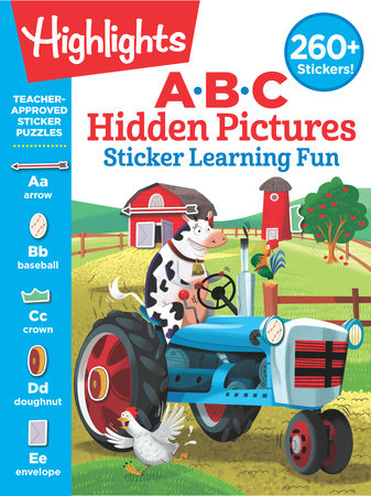 ABC Hidden Pictures Sticker Learning Fun by