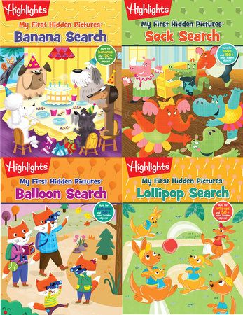 Highlights My First Hidden Pictures Pack by Highlights