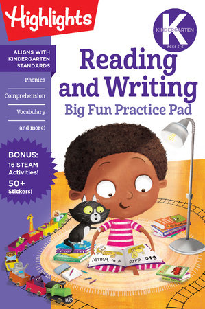 Kindergarten Reading and Writing Big Fun Practice Pad by