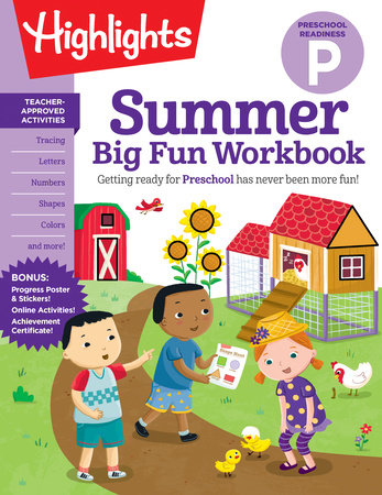 Summer Big Fun Workbook Preschool Readiness