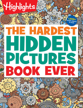 The Hardest Hidden Pictures Book Ever by