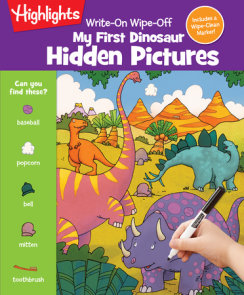 Write-On Wipe-Off My First Dinosaur Hidden Pictures