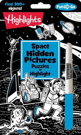 Space Hidden Pictures Puzzles to Highlight by