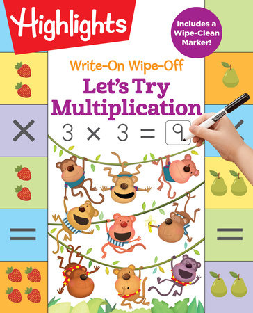 Write-On Wipe-Off Let's Try Multiplication