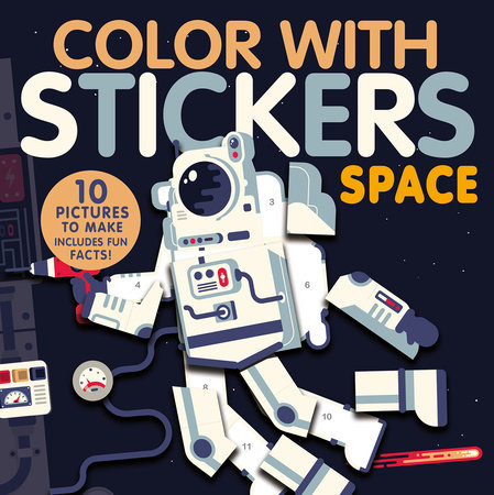 Color with Stickers: Space by Jonny Marx