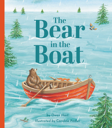 The Bear in the Boat by Owen Hart
