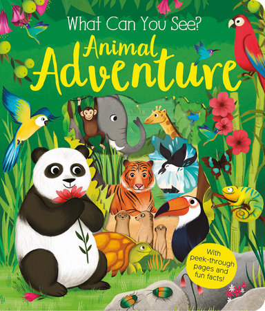 What Can You See: Animal Adventure by Kate Ware