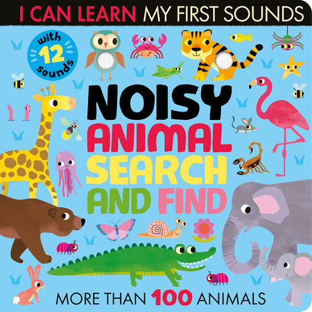 Noisy Animal Search and Find by Lauren Crisp