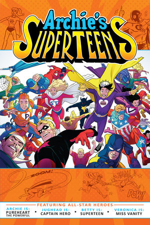 Archie's Superteens by Archie Superstars