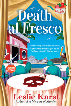 Death al Fresco by Leslie Karst