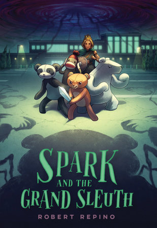 Spark and the Grand Sleuth by Robert Repino