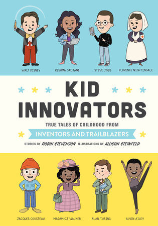 Kid Innovators by Robin Stevenson