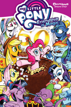 My Little Pony Omnibus Volume 4 by Christina Rice and Ted Anderson