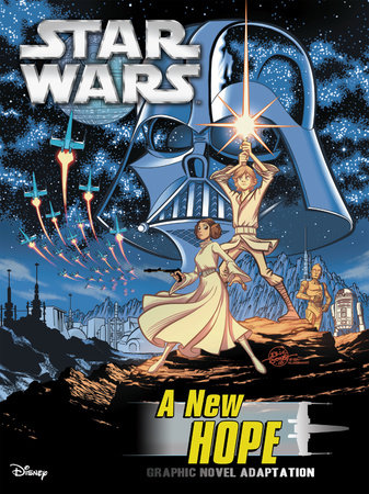 Star Wars: A New Hope Graphic Novel Adaptation by Alessandro Ferrari