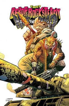 Teenage Mutant Ninja Turtles: Bebop & Rocksteady Hit The Road by Dustin Weaver