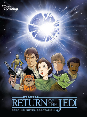 Star Wars: Return of the Jedi Graphic Novel Adaptation by Alessandro Ferrari