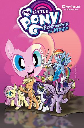 My Little Pony Omnibus Volume 5 by Christina Rice and Thom Zahler