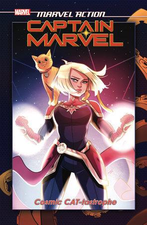 Marvel Action: Captain Marvel: Cosmic CAT-tastrophe by Sam Maggs