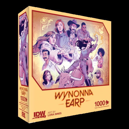 Wynonna Earp: Thirsty Cowgirl Premium Puzzle (1000-pc) by