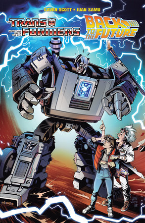 Transformers/Back To The Future by Cavan Scott