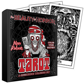 The Beauty of Horror: Color Your Destiny Tarot Deck
