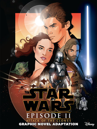Star Wars: Attack of the Clones Graphic Novel Adaptation by Alessandro Ferrari
