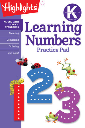 Kindergarten Learning Numbers by