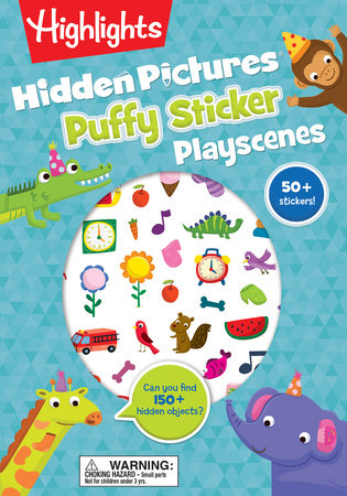 Hidden Pictures® Puffy Sticker Playscenes by