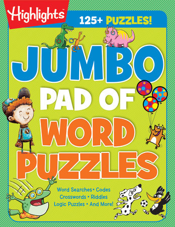 Jumbo Pad of Word Puzzles by