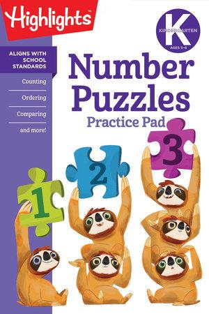Kindergarten Number Puzzles by