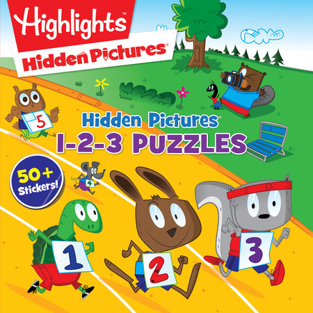 Hidden Pictures® 1-2-3 Puzzles by