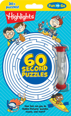 60-Second Puzzles by