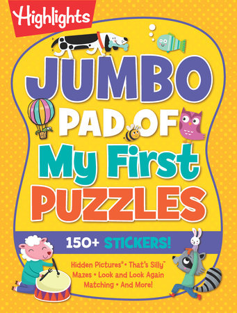Jumbo Pad of My First Puzzles by Highlights